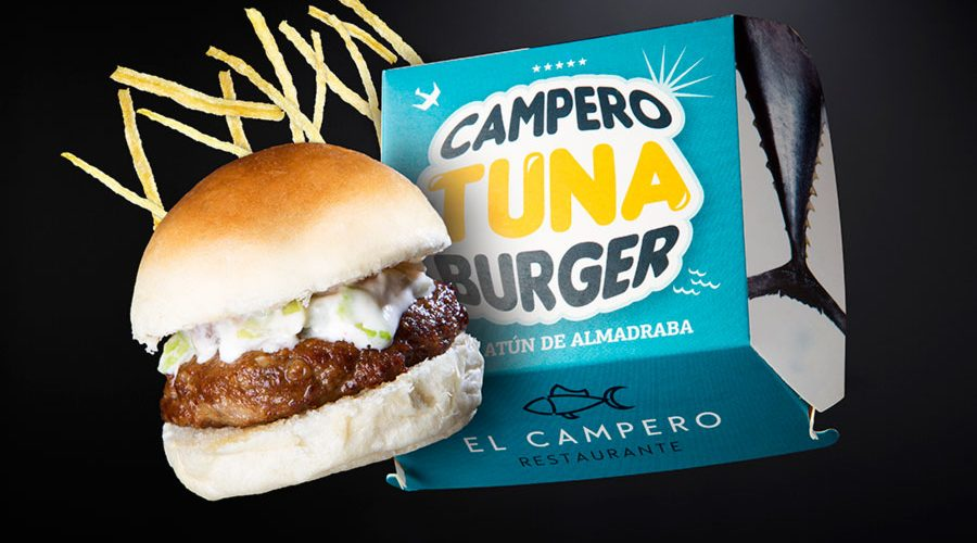 Campero Tuna Burger
